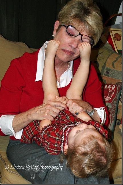 Playing with Grandmomela 12-25-08