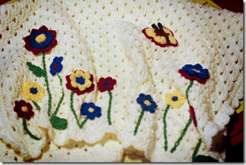 Flower-Butterfly blanket 2