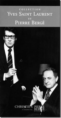 yves saint laurent - pierre bergé