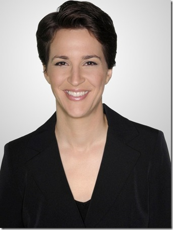THE RACHEL MADDOW SHOW -- Pictured: Rachel Maddow -- NBC Photo: Ali Goldstein  FOR EDITORIAL USE ONLY -- DO NOT RE-SELL/DO NOT ARCHIVE  Airdate: Weekdays on MSNBC (9-10 p.m. ET) File: NUP_132105_0004.jpg Size: 2467257 Posted: 08/28/08