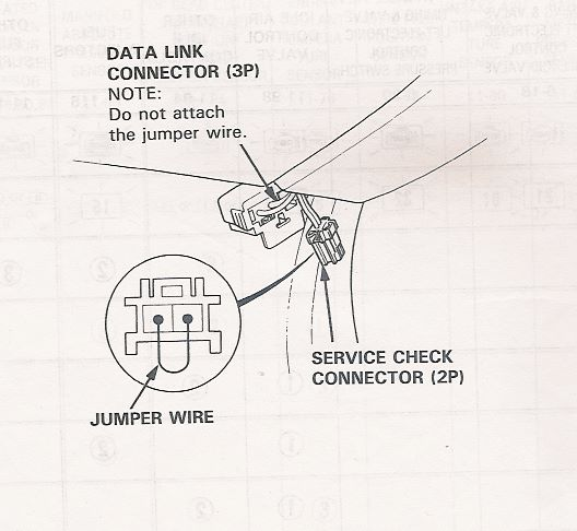 1995 Honda Accord Obd Connector Location
