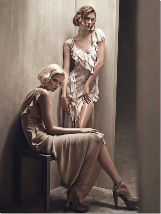 donna karan ss2011 patrick demarchelier karlie kloss abbey lee_1