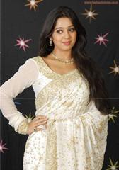 tollywood-actress-charmi-in-designer-white  saree_actressinsareephotos_blogspot_com_22
