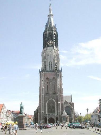 Delft, la Chiesa