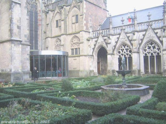 Utrecht, il giardino