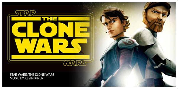 Star Wars:  The Clone Wars by Kevin Kiner (Soundtrack Review)