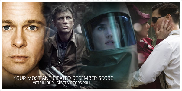 Most Anticipated Movie Score of December?  Vote