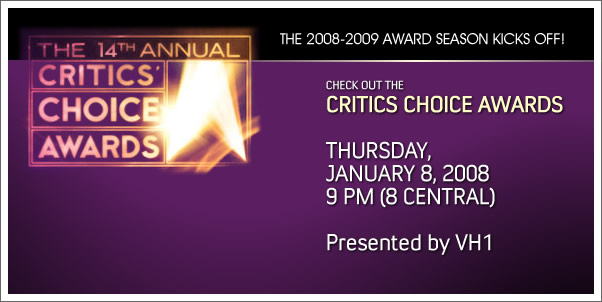 Critics Choice Awards Airs Tomorrow Night