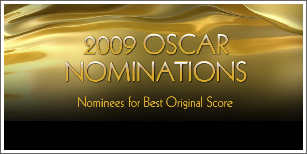 2009 Oscar Nominations for Best Original Score