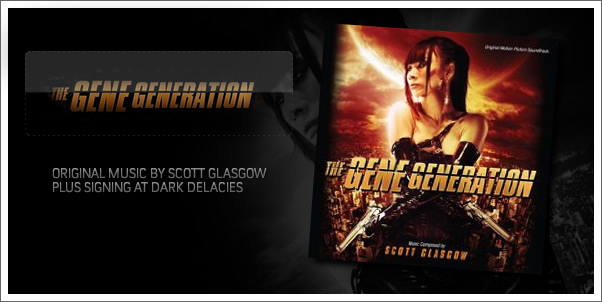 The Gene Generation by Scott Glasgow + Signing at Dark Delicacies