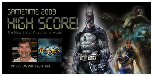 Gametime 2009 - Interview with Ron Fish (Batman Arkham Asylum)