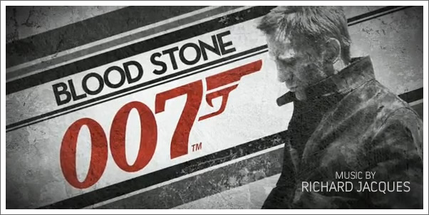 007 Blood Stone Scored by Richard Jacques