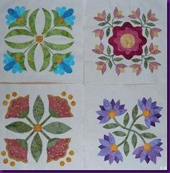 4 Blöcke Florabunda