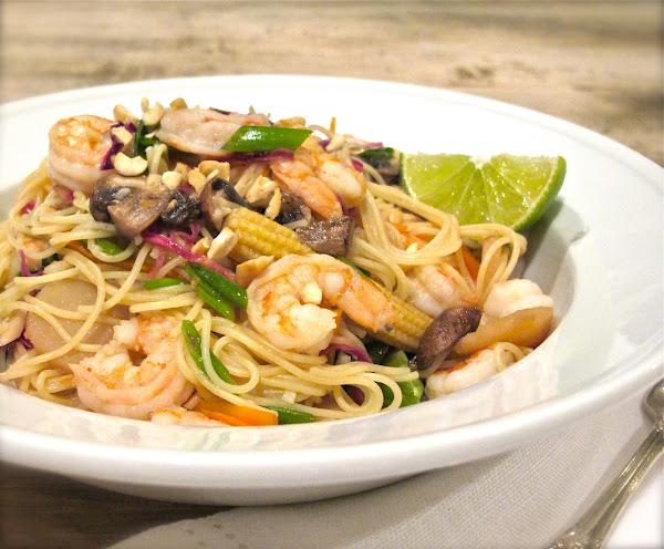 ... Hobick: Recipes   Quick Shrimp Pad Thai Inspired Recipe for $15