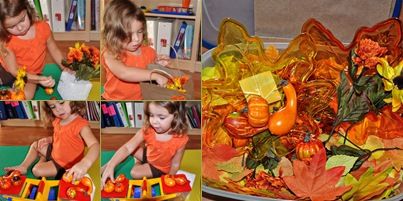 View September Sensory Bin