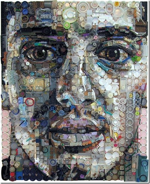 垃圾藝術畫-3