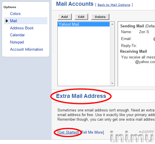 how to send emails to multiple addresses in yahoo