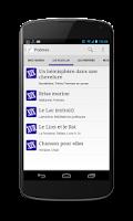 Screenshot of Un Poème Un Jour