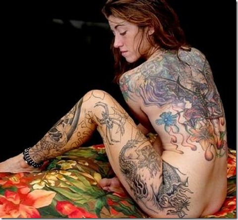 full body tattoo sexy girls_girl-full-body-tattoo