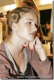 Rosie Huntington-WhiteleyBackstageBetty Jackson (5)