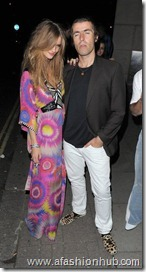 Rosie Huntington-Whiteley Candids 22nd Birthday Party (5)