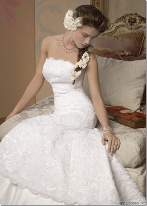 Rosie Huntington-Whiteley Alvina Valenta Bridal Collection (23)