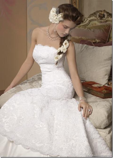 Rosie Huntington-Whiteley Alvina Valenta Bridal Collection (23)