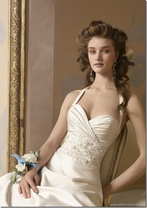 Rosie Huntington-Whiteley Alvina Valenta Bridal Collection (8)