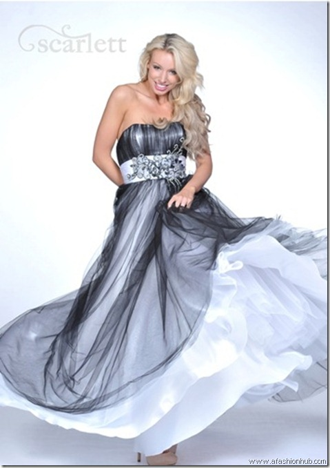 Babouska, also in Fuchsia and Royal Blue-Prom dress and ballgown