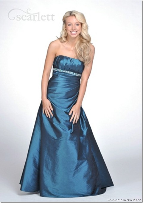 Taylor, also in Red, Blueberry and Silver-Prom dress and ballgown