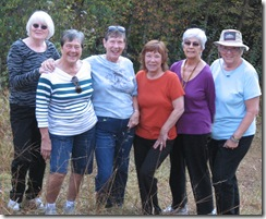 the walkers karen donna suzannne janice jackie helen