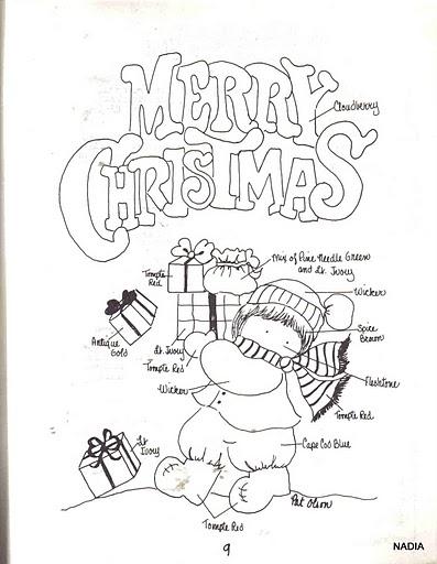 La navidad para ni os en ingles - Postales de navidad faciles para ninos ...