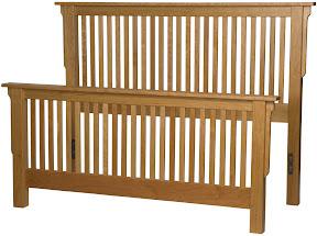 mission bed frame