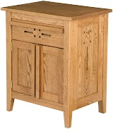 Florence Nightstand with Doors