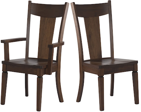 Corsica Chair in Burnt Oak