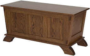 baroque cedar chest