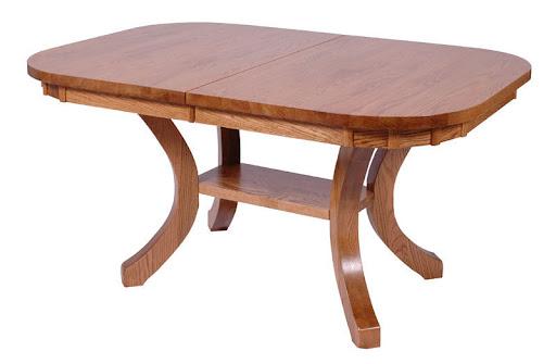 """60"""" x 42"""" Table in Medium Oak"""