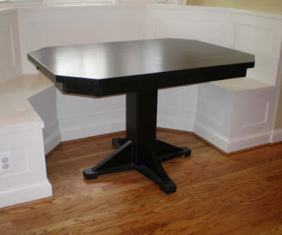 corner kitchen table