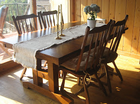 California dining room table