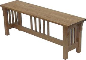 mission bench