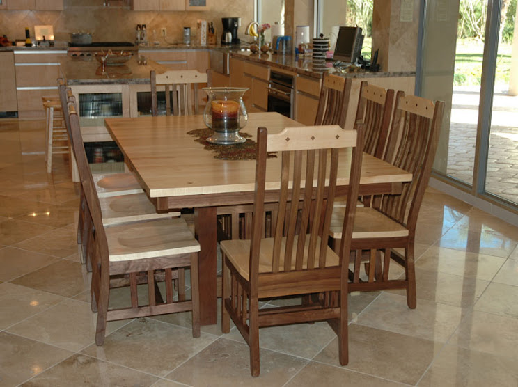 handcrafted dining room sets from erik organic
