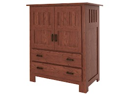 Teton Armoire Dresser