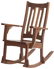 runic rocking chair