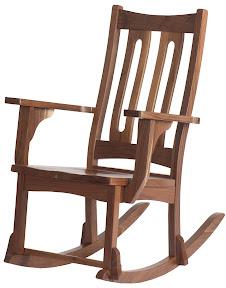 runic rocking chair