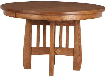 "48"" Diameter Sonora Round Table in Autumn Oak"