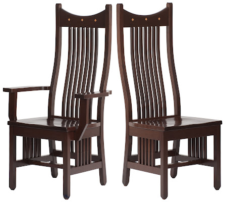 Western Chair in Mocha Walnut