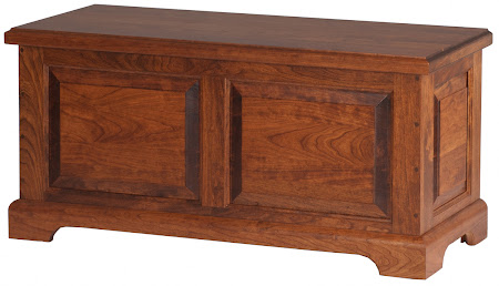 """36"""" Wide Hudson Chest in Royal Maple"""