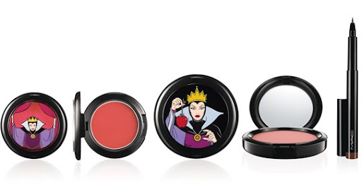 mac venomous villains evil queen blush powder eyeliner