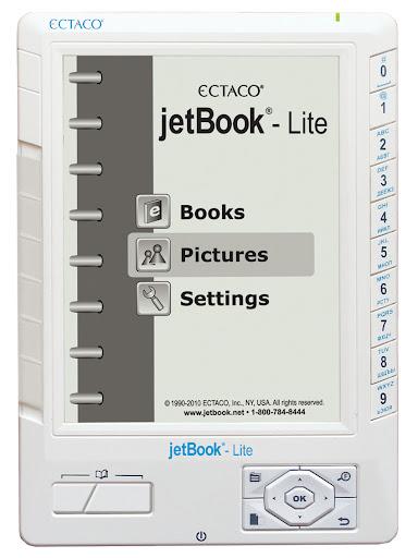 Ectaco jetBook Lite eBook Reader. eReader. White at Sears.com