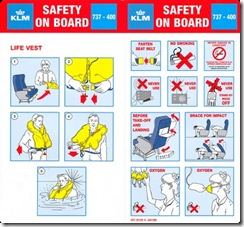 Safety briefing Card